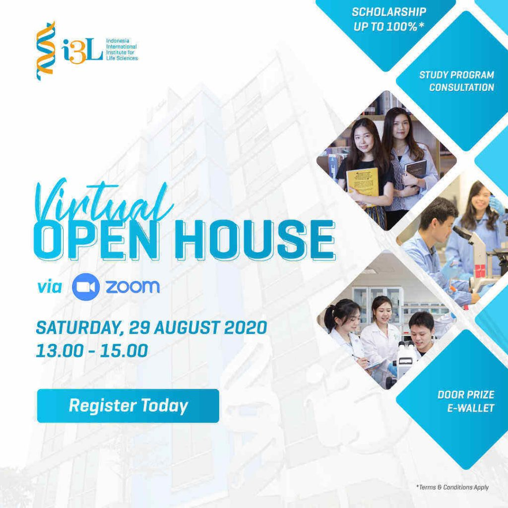 i3L Virtual Open House 29 August 2020