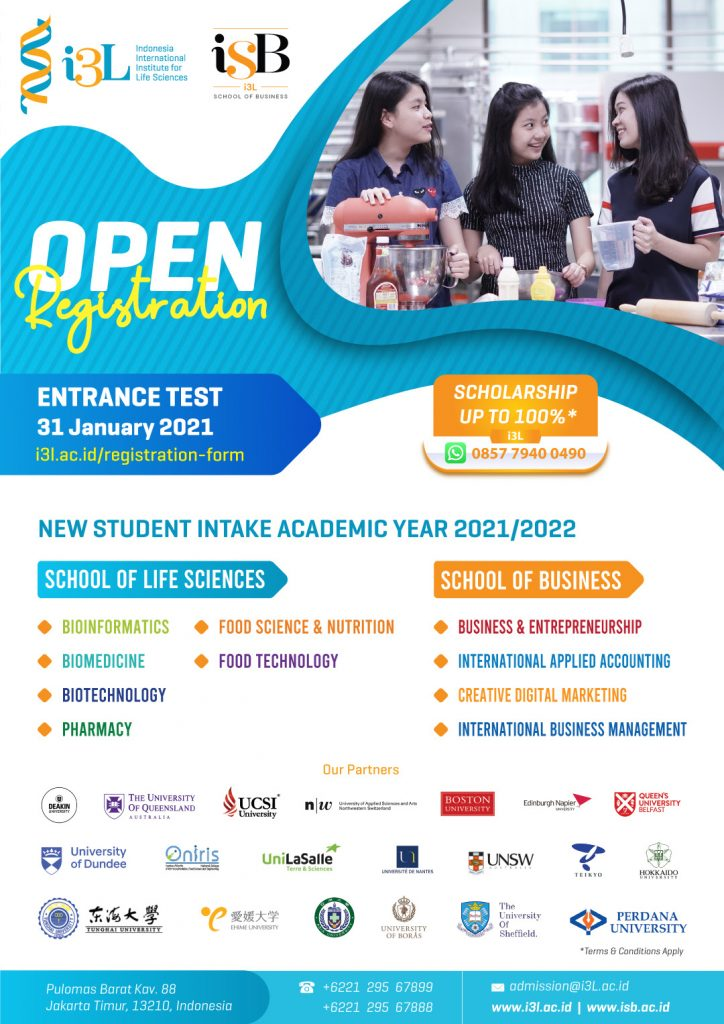 i3l entrance test jan