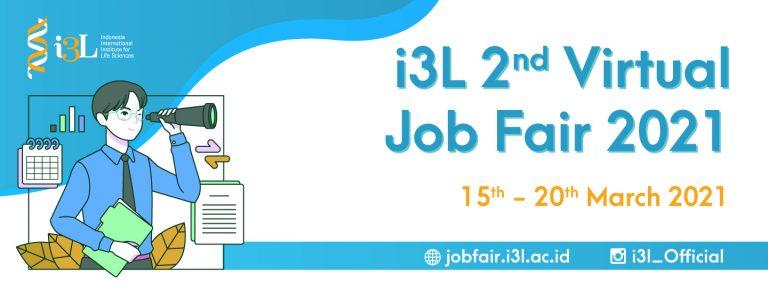 i3L Virtual Job Fair March 2021
