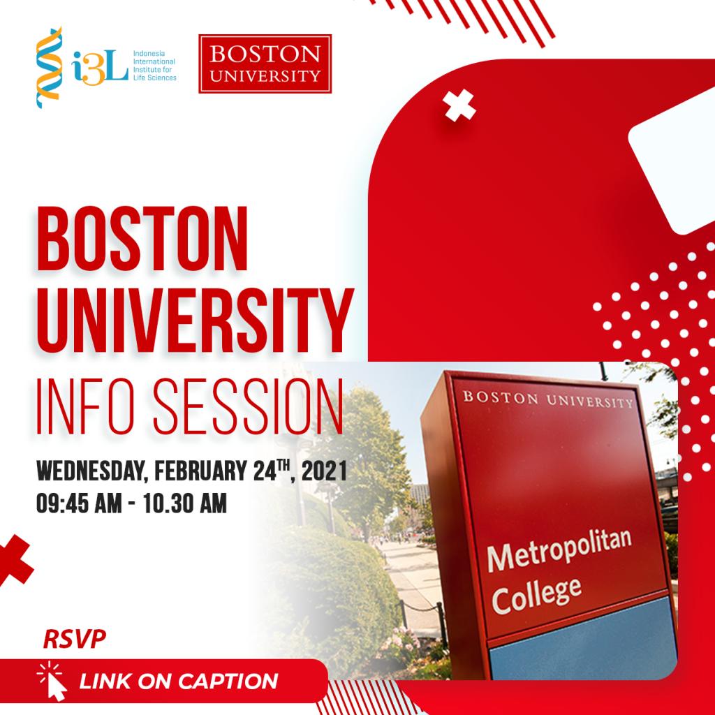 i3L x Boston University Master Pathway Program