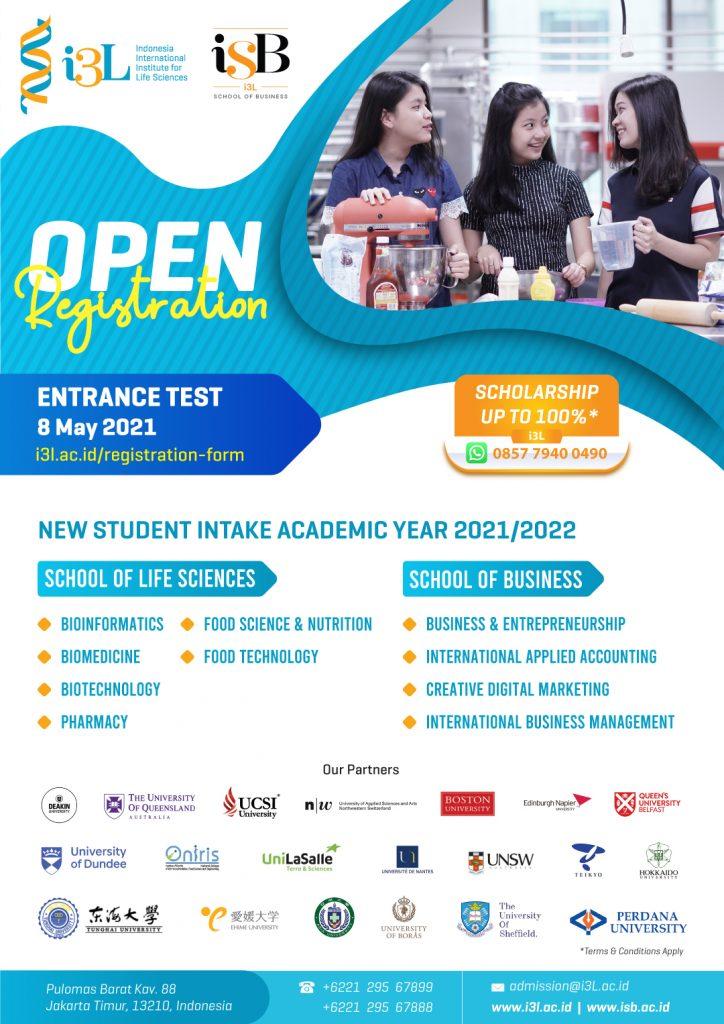 Entrance-Test-8-May International Campus Jakarta