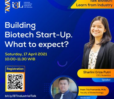 How To Build Start Up. What To Expect in Biotechnology Company