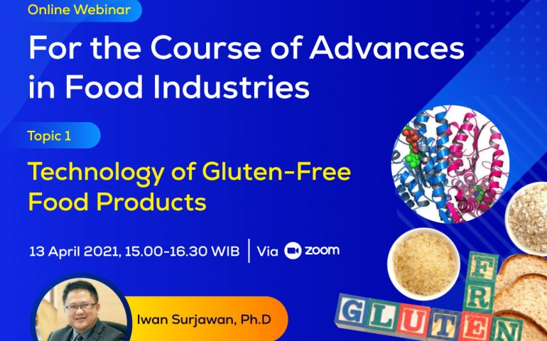 Technology of Gluten Free Food Products Webinar Course