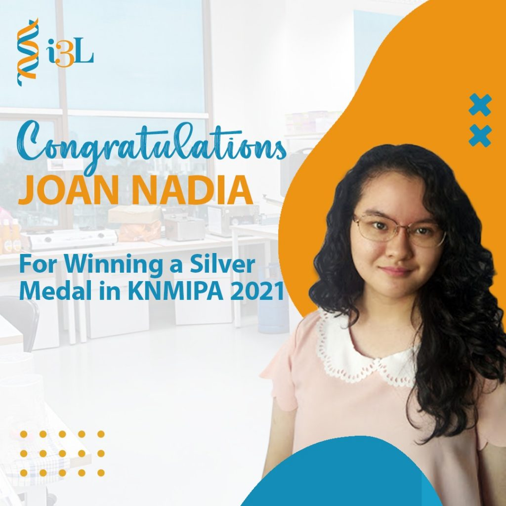 Congratulations for winning a silver medal in KNMIPA 2021